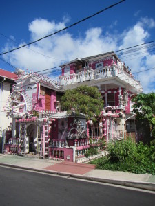 A crazy pad in Portsmouth, Dominica.